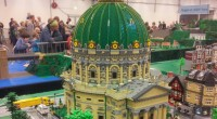 Marmorkirken in Copenhagen built by Christoffer Behrens using ~30,000 LEGO bricks.