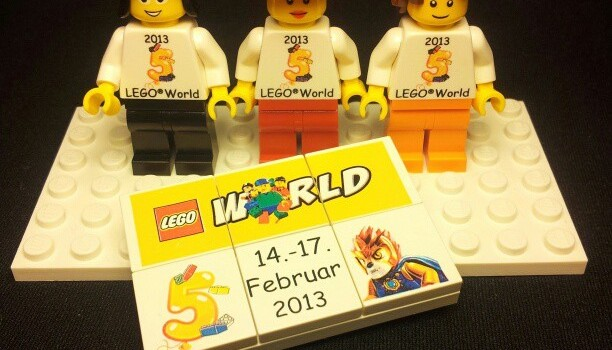 Exclusive gifts at LEGO World